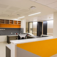 Reception area / nurses station - J Block