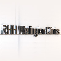 Wellington Clinics sign