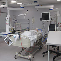 ICU demonstration bed